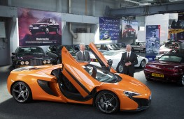 Great British Car Journey, 2021, McLaren
