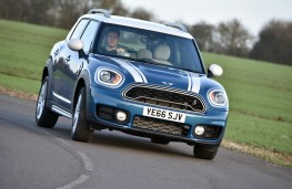MINI Countryman, 2017, front, cornering