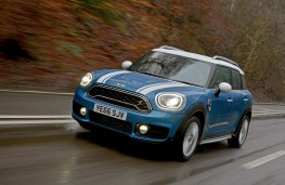 MINI Countryman, 2017, front, action