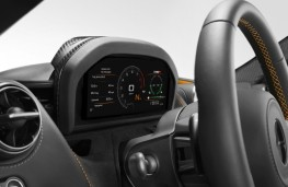 McLaren 720S, 2017, instrument panel, road