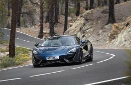 McLaren 570GT, open road