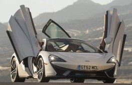 McLaren 570GT, ready to fly