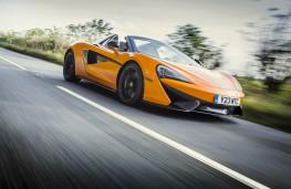 McLaren 570S Spider, front action 3