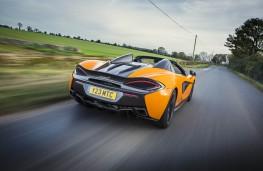 McLaren 570S Spider, rear action