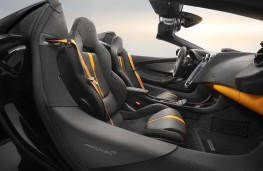 McLaren 570S Spider Design Edition interior