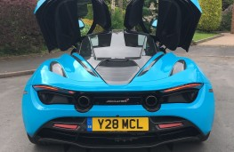 McLaren 720S Performance, 2018, rear, doors open