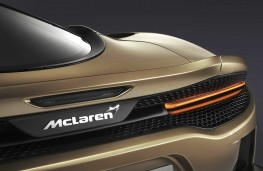 McLaren GT rear badge detail