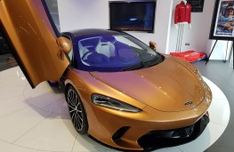 McLaren GT at McLaren Manchester