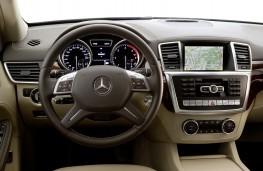 Mercedes M-Class 2012, interior