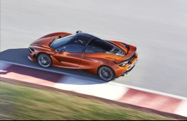 McLaren 720S, 2017, overhead