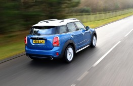 MINI Countryman, 2017, rear, action