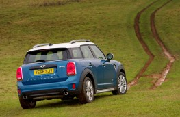 MINI Countryman, 2017, rear, off road