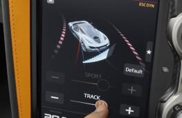 McLaren 720S, 2017, display screen