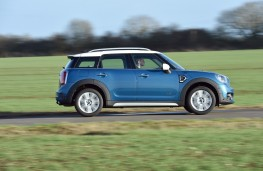 MINI Countryman, 2017, side, action