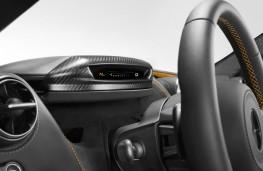 McLaren 720S, 2017, instrument panel, track