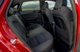 Kia Ceed GT, interior, rear