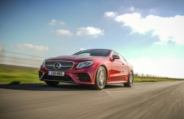 Mercedes-Benz E-Class Coupe, dynamic