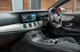 Mercedes-Benz E-Class Coupe, interior