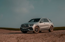 Mercedes-Benz GLE, front