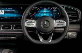 Mercedes-Benz GLE, dashboard