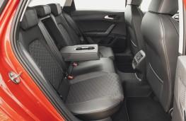 SEAT Leon Estate, interior, rear