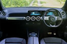 Mercedes-Benz GLB, dashboard