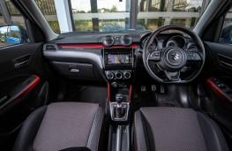 Suzuki Swift Sport, dashboard