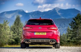 Kia Optima Sportswagon, rear