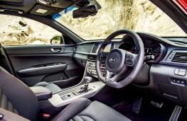 Kia Optima Sportswagon, interior