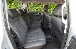 SsangYong Musso Saracen, interior, rear