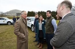 Prince of Wales meets young farmers