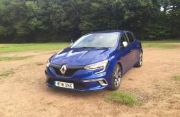 Renault Megane GT, front
