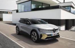 Renault Megane E-Tech, 2021, front, action
