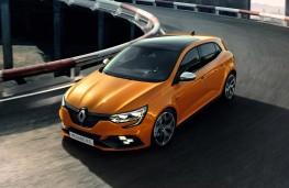 Megane Renault Sport, 2017, front