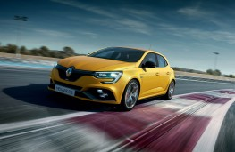 Renault Megane RS Trophy, 2018, front, action