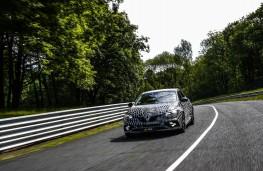 Megane Renault Sport, 2017, front, track