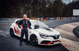 Renault Megane R.S. Trophy-R, 2019, with Laurent Hurgon