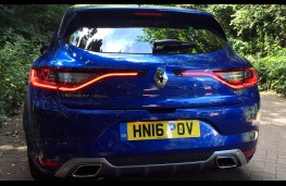 Renault Megane, 2016, rear LED