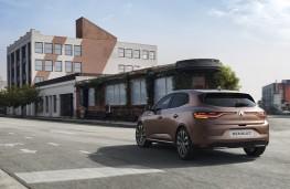 Renault Megane, 2020, rear