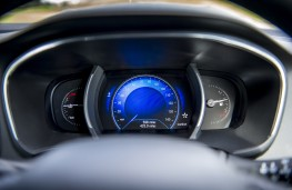 Renault Megane, 2016, dials, blue