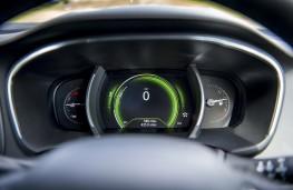 Renault Megane, 2016, dials, green