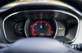 Renault Megane, 2016, dials, red