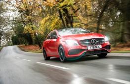 Mercedes A-Class, front
