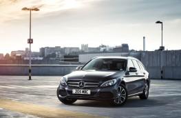 Mercedes C Class Estate, front