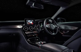 Mercedes C Class Estate, interior