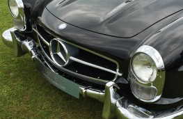 Cholmondeley Power and Speed 2016, Mercedes-Benz 300SL roadster, 1957