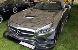 Cholmondeley Power and Speed 2016, Mercedes AMG T3, 2016