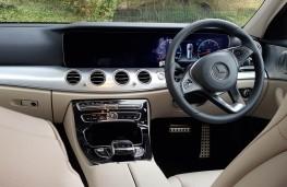 Mercedes E 350 D 4MATIC All-Terrain, cockpit