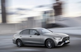 Mercedes-Benz C-Class saloon, action side