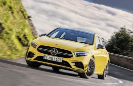 Mercedes - AMG A35 4Matic front action